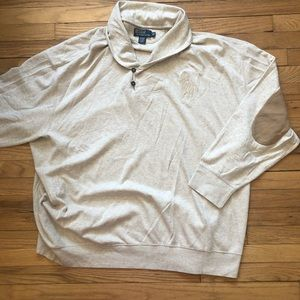 Polo By Ralph Lauren Big Horse  Sweater 5XB Big